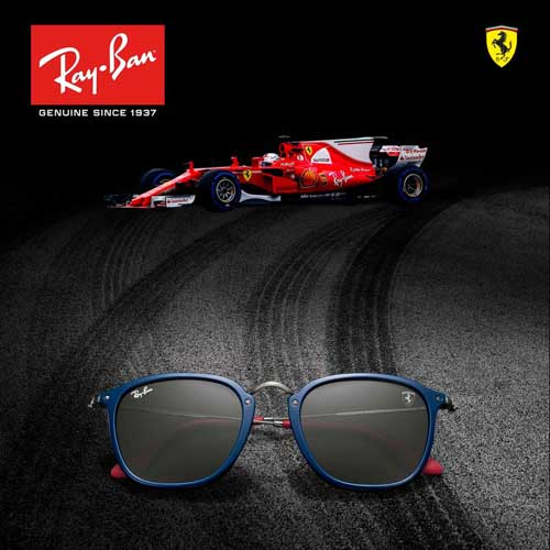 Ray-Ban and Scuderia Ferrari, from sponsorship to license