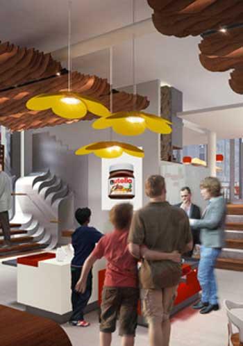 E dopo il licensing, il retail: Ferrero apre il Nutella Cafè a Chicago
