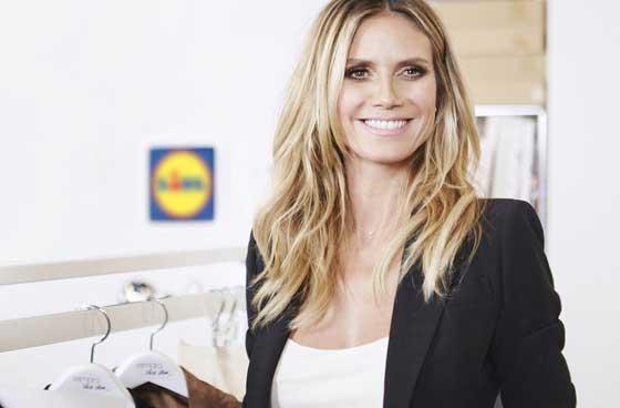 Lidl lancia una linea di abbigliamento low-cost con Heidi Klum