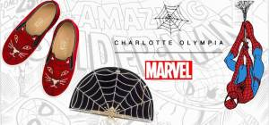 Charlotte Olympia takes Spider-Man in her web