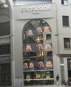 Minions by Craig and Karl invadono Excelsior  Milano