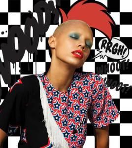 La versione fashion di Woody Woodpecker con House of Holland