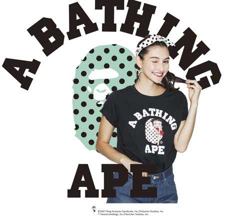 Betty BAPE: lo streetwear incontra i cartoon