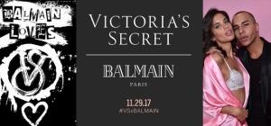 Passerella sexy per Balmain con Victoria's Secret