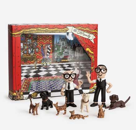 DGFamily Toys: arrivano le figurine 3D di Dolce e Gabbana