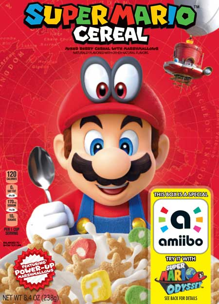 Geeks of the world unite for Super Mario Cereal by Kellogg's