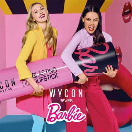 Wycon Loves Barbie: 30 sfumature di rosa