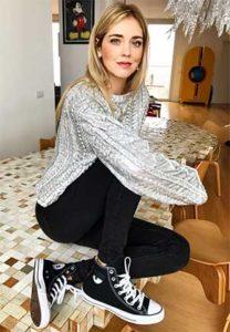 Miley Cyrus and Chiara Ferragni: double blow for Converse