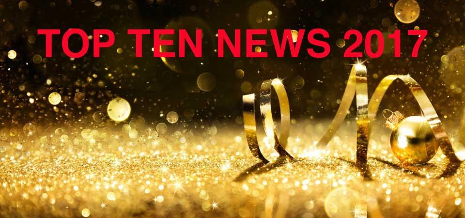 Un anno di news: i dieci articoli più letti nel 2017