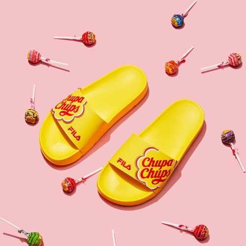 FILA x Chupa Chups: Fashion Loves Food