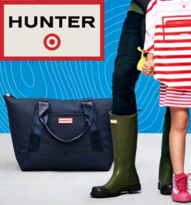 Hunter hits USA with a massive collaboration with Target