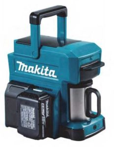 Makita, brand extension from tools to coffee