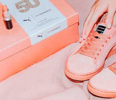 PUMA x M.A.C., la cosmetica converge con le sneaker
