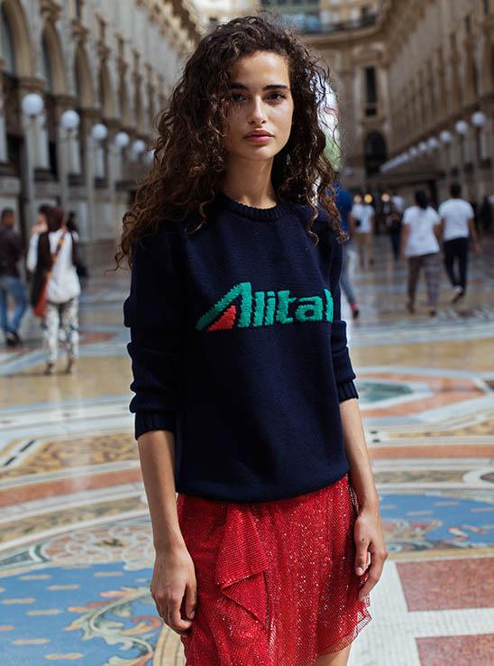 Alberta Ferretti per Alitalia