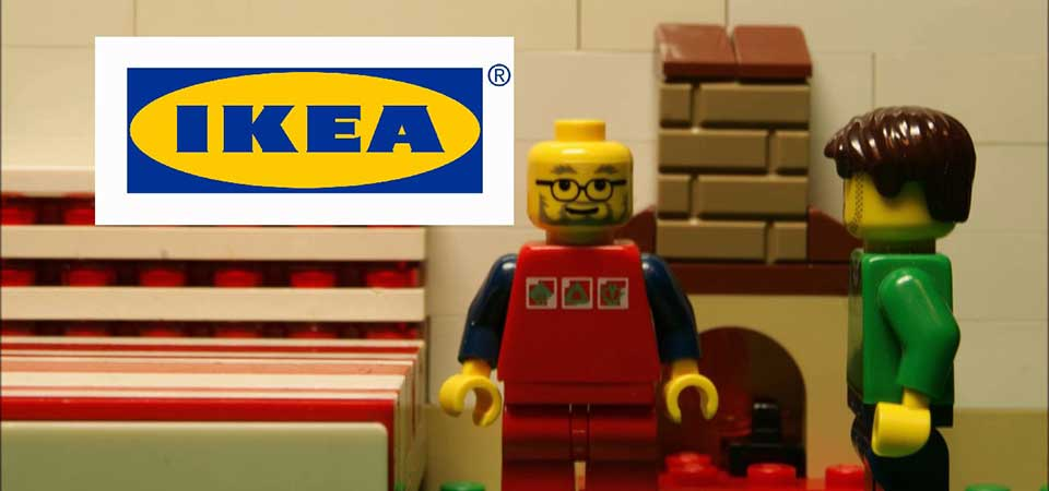 IKEA e LEGO insieme per la creatività nel gioco