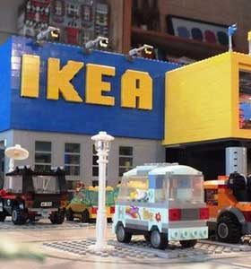 IKEA and LEGO together to encourage play