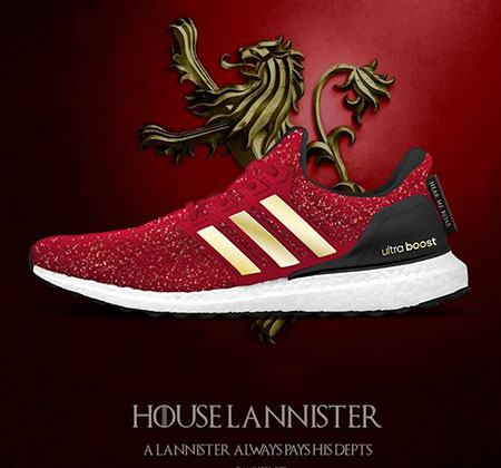 adidas to launch a Games of Thrones range?
