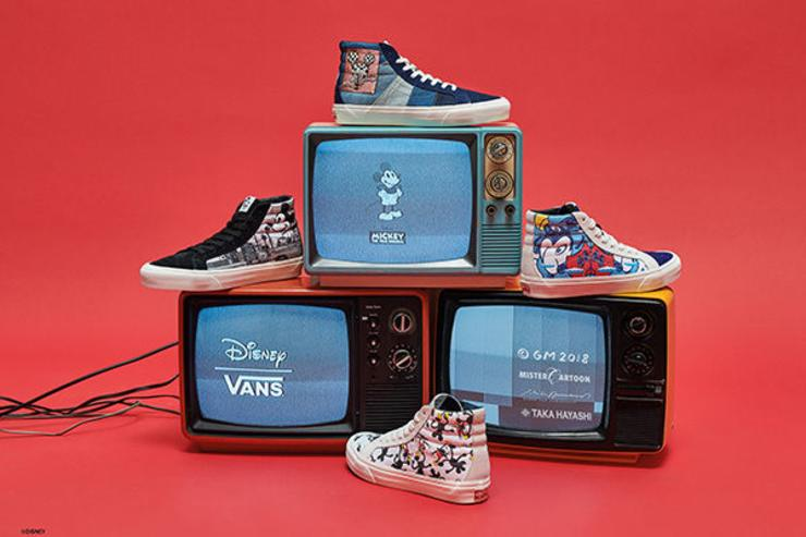 online store 84dce 863fb Vans celebra il 90° compleanno di Mickey Mouse | brandjam