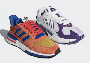 La collab Adidas Originals x Dragon Ball Z è ufficiale