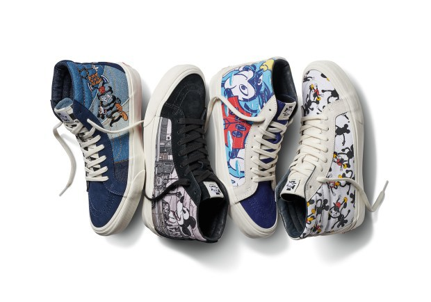 Vans x Mickey Mouse's 90th Anniversary
