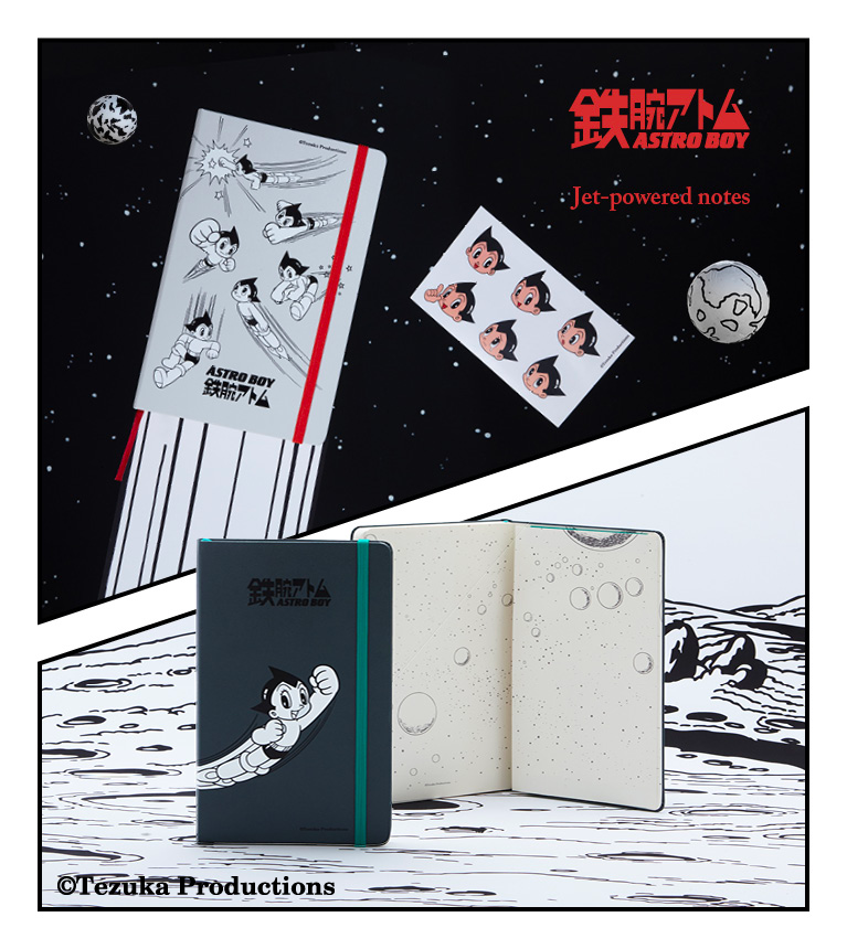 Moleskine launches a double limited edition to celebrates Astro Boy and its creator