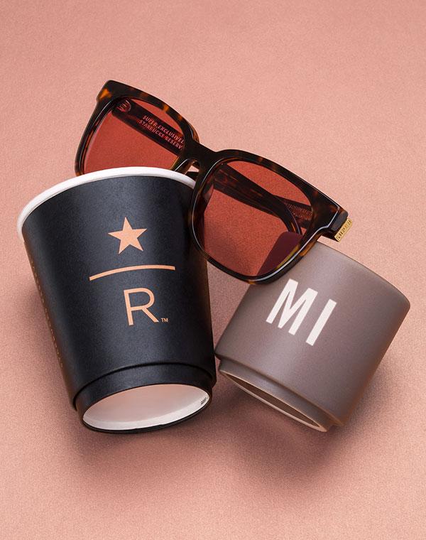 Starbucks: da Milano il co-branding con occhiali