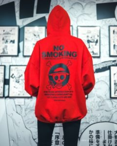 "One Piece joins Fxxking Rabbits for a ""Smoking Kills"" capsule"