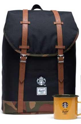 Herschel Supply conquista la Cina con Starbucks
