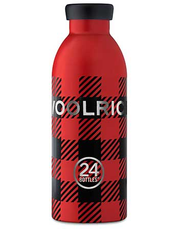 24 Bottles con Woolrich, accento sul lifestyle