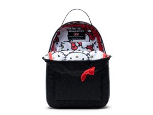 A bow for the Hello Kitty x Herschel Supply capsule