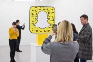 LEGO teams up with Snapchat for a augmented reality pop-up store