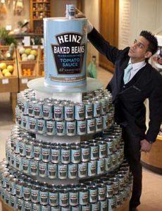 Heinz festeggia 150 anni da Fortnum and Mason