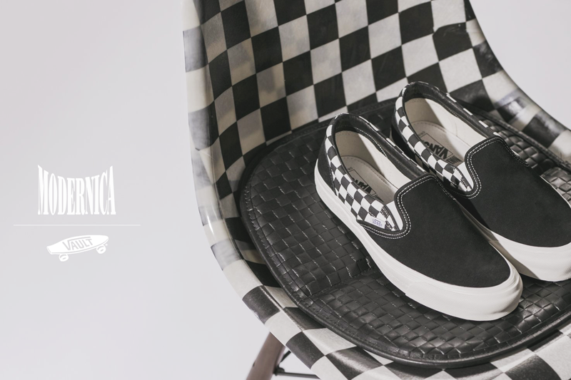 Modernica x Vans: una capsule tra streetwear e design