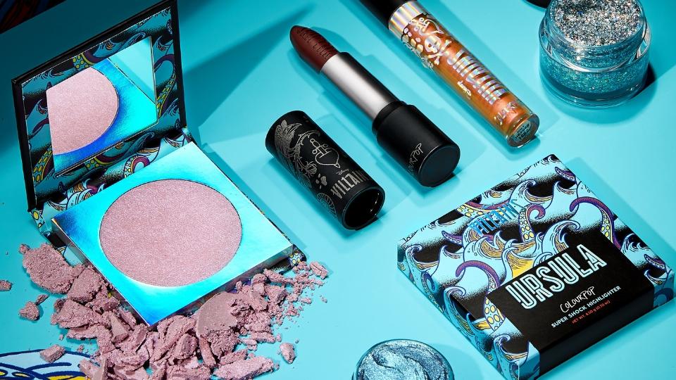 Disney Villains make-up collection con ColourPop