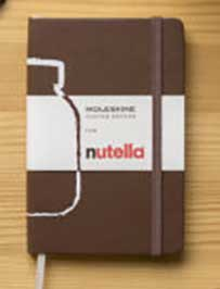 Moleskine x Nutella at duty-free retail