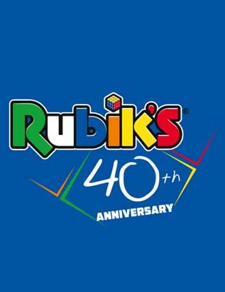 Il Cubo di Rubik prepara le collaborations per il suo 40°