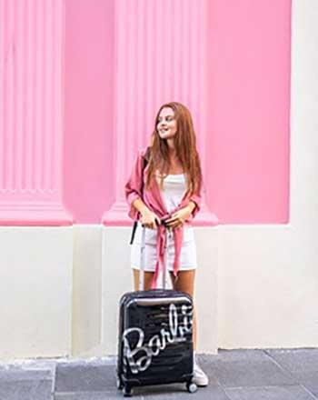 Samsonite festeggia il sessantesimo anniversario di Barbie