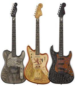 Fender plays Game of Thrones