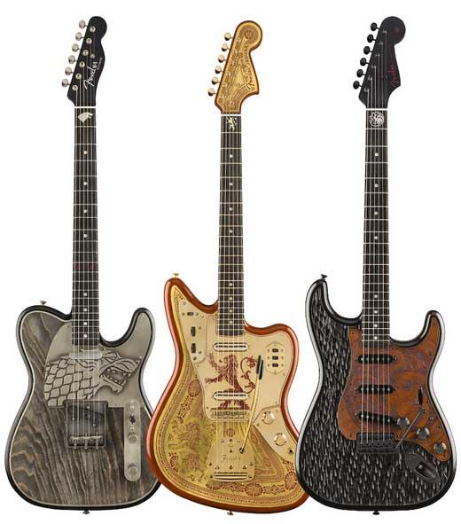 Fender suona Game of Thrones