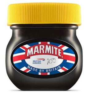 Marmite and other Brit Brands celebrate 100 years of British Airways