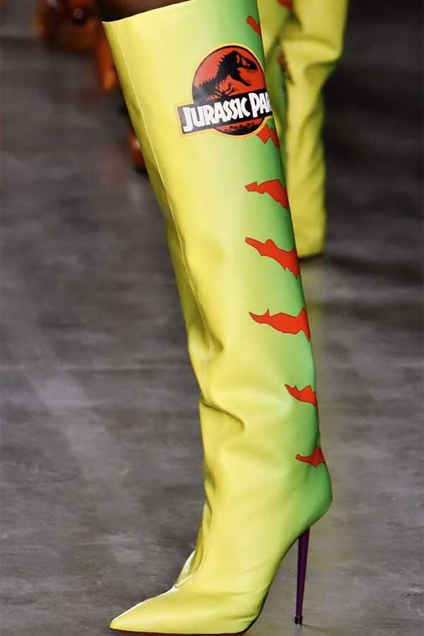 La versione fashion di Jurassic Park di GCDS