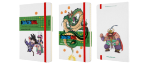 Moleskine  launches a nostalgia infuse capsule collection with Dragon Ball