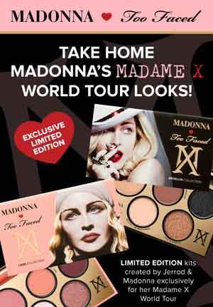 Too Faced x Madonna: un altro colpo della Material Girl