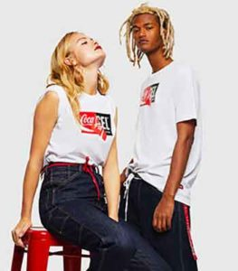 Diesel x Coca Cola, fashion responsabile