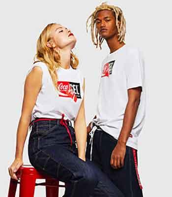 Diesel x Coca Cola, fashion responsabile