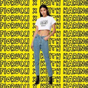 Fiorucci x Keith Haring, neopop urbano