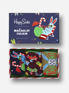 """Naughty or Nice""? La capsule natalizia di Happy Socks firmata da Macaulay Culkin"