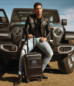 Go Carpisa teamed-up with Jeep