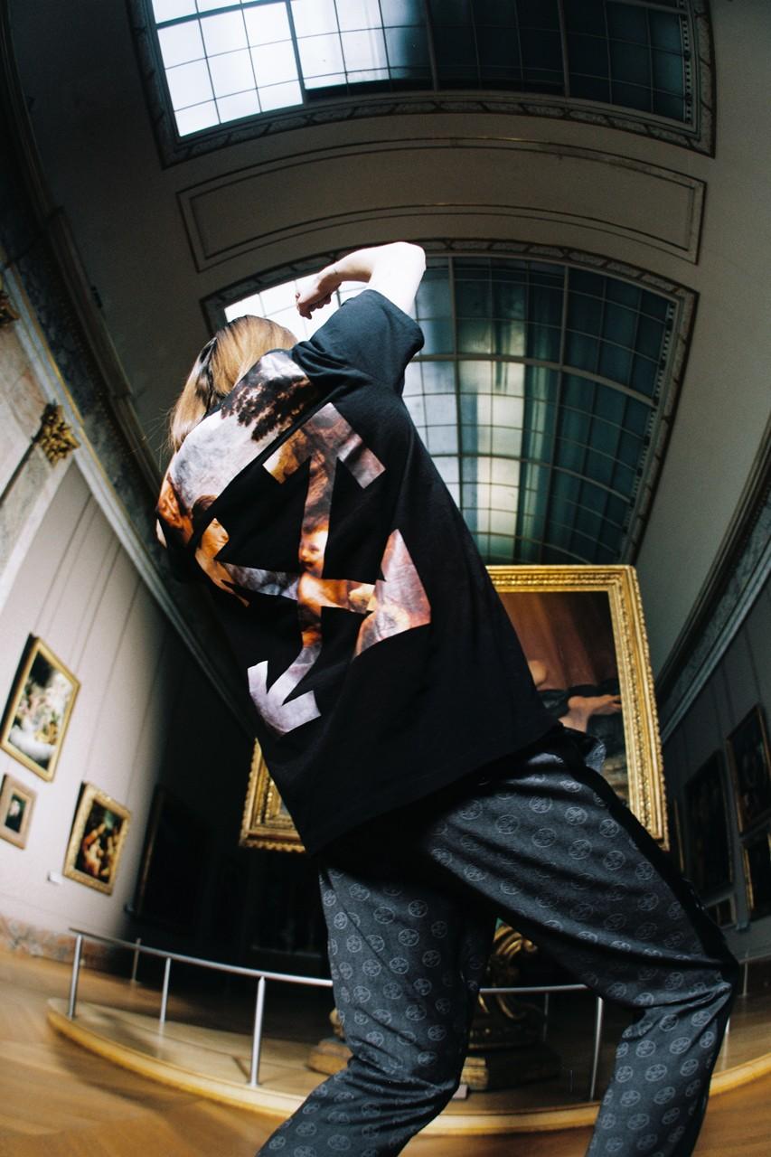 Off-White x Louvre:  merchandising innovation