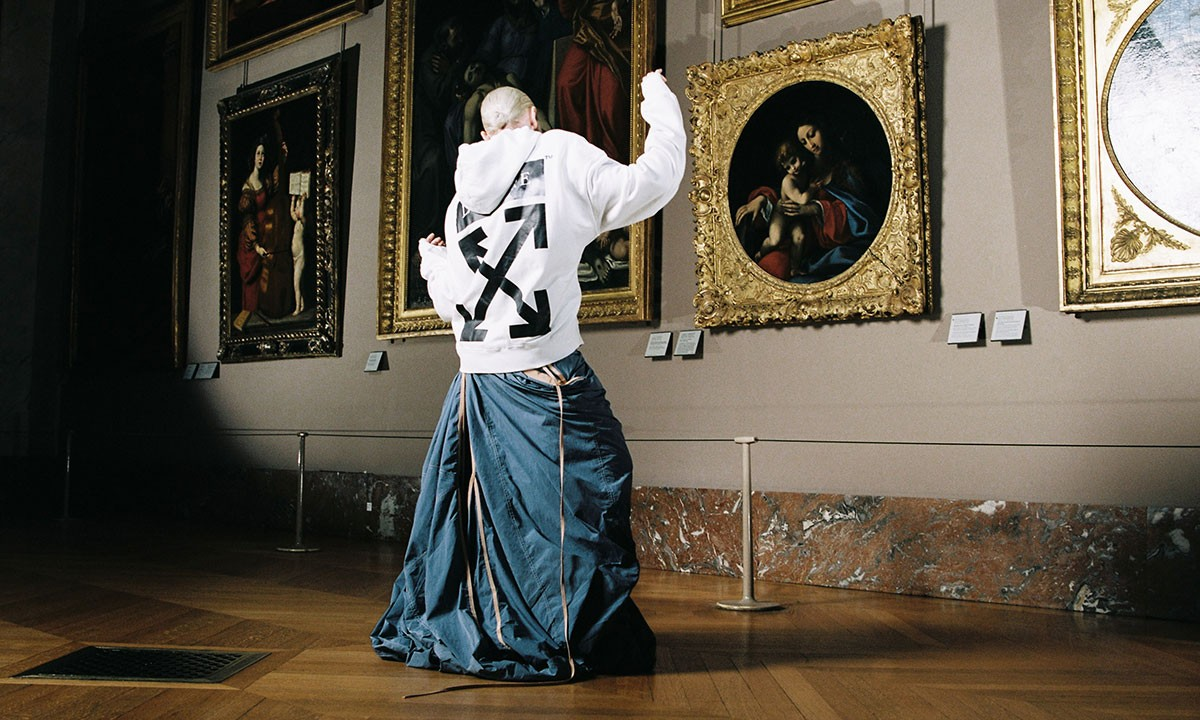 Virgil Abloh creates streetwear collection for the Musée du